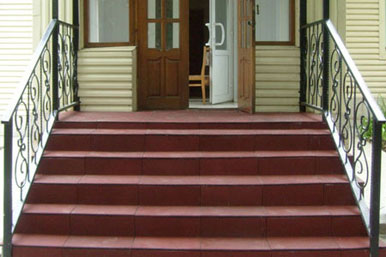 Лестницы, пандусы, терассы