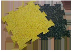 Резиновые пазлы с EPDM гранулами