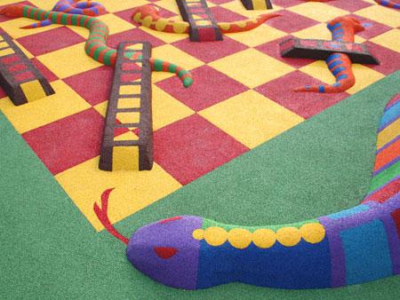 Игровые площадки объемные