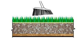 Монтаж искусственной травы.