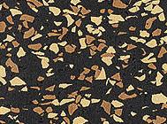 Многоцветный крупный гранулят EPDM двух видов 50%
