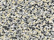 Многоцветный мелкий гранулят EPDM двух видов 85%